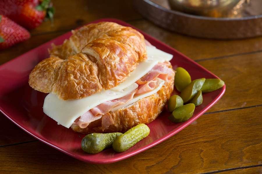 Dijon Swiss and Ham Croissant