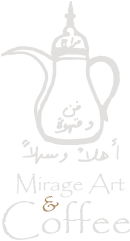 Mirage Art Gallery and Coffee Shop Honolulu Logo
